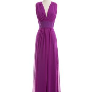 After Six purple formal wear dress